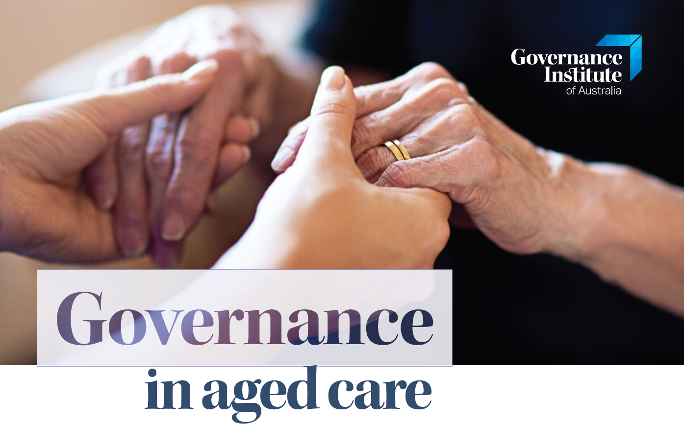 Governance In Aged Care Flyer Image