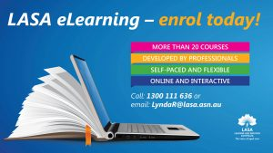 LASA eLearning - enrol today!