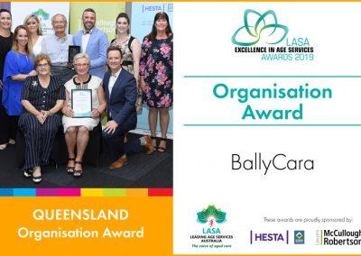 Organisation Award: BallyCara