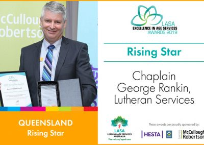 Rising Star: Chaplain George Rankin, Lutheran Services