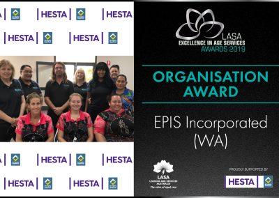 LASA Award Frames 20194