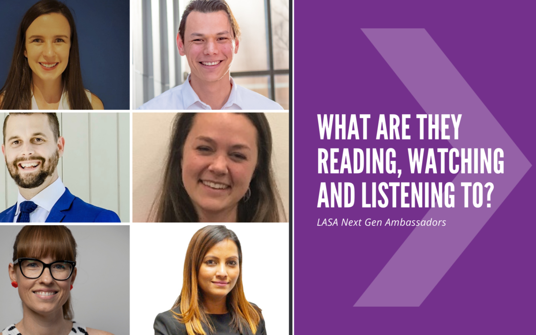 What are young leaders reading, watching and listening to?