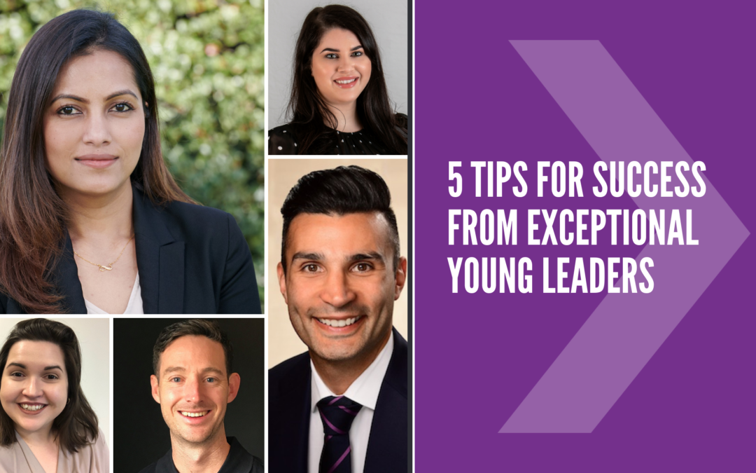 5 tips for success from exceptional young leaders