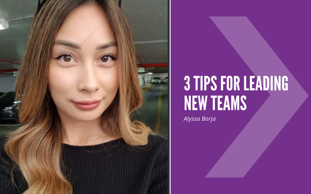 3 tips for leading a new team