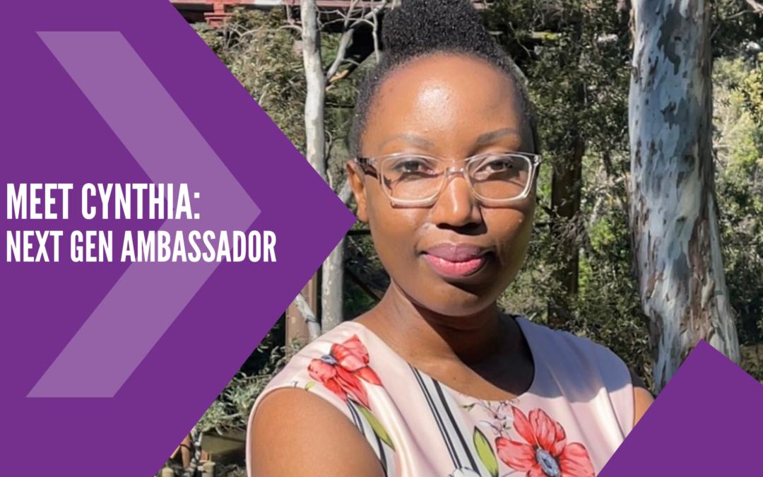 Meet Cynthia: LASA Next Gen Ambassador